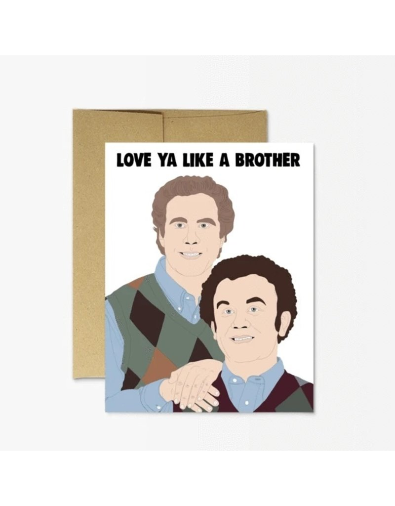 Party Mountain Paper Co Like a Brother Card