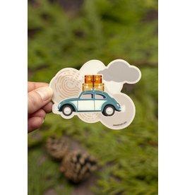 Amanda Weedmark Travel Bug Vinyl Sticker