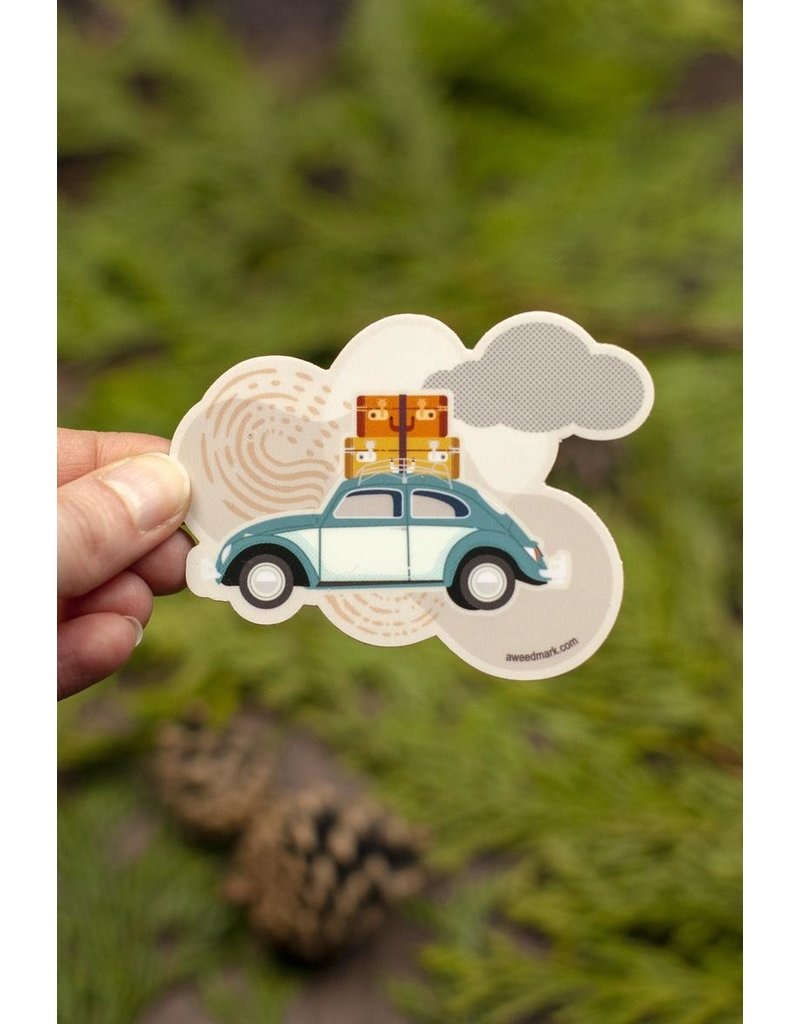 Amanda Weedmark Travel Bug Vinyl Sticker