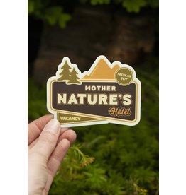 Amanda Weedmark Mother Nature's Hotel Vinyl Sticker