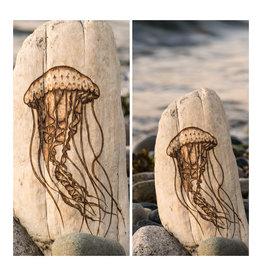 Wild Pine Design Small Jellyfish Driftwood