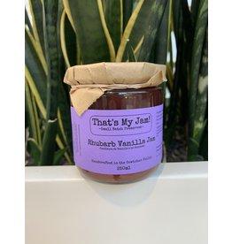 That's My Jam Rhubarb Vanilla Jam