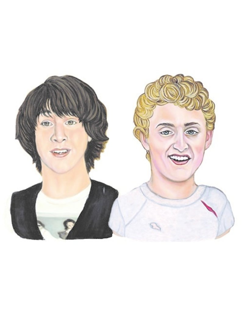 The Dolly Shop Bill and Ted Magnets