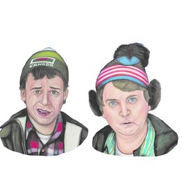 The Dolly Shop Bob and Doug Magnets
