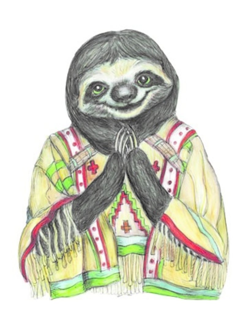 The Dolly Shop Sloth Magnet