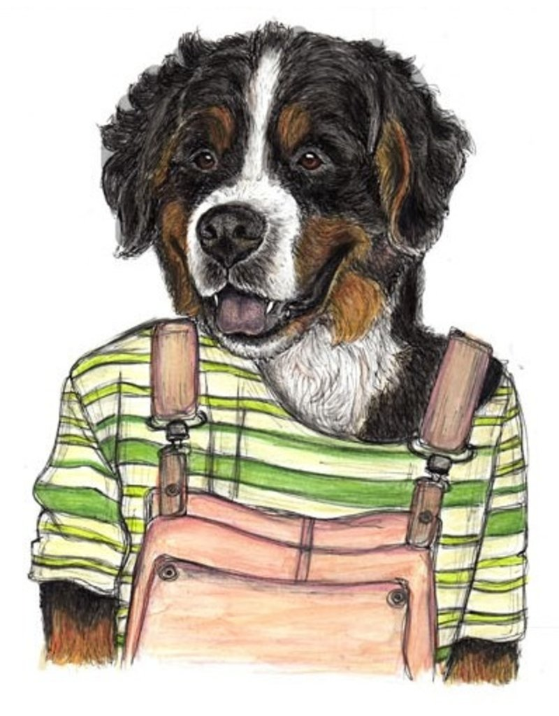 The Dolly Shop Bernese Mountain Dog Magnet