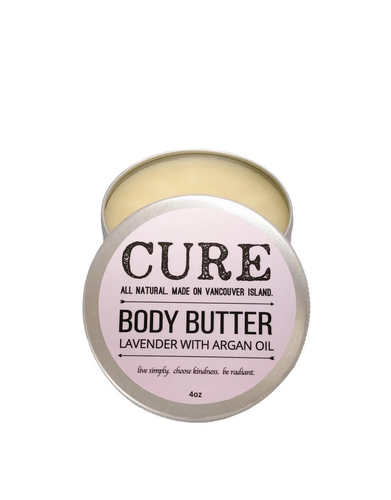 CURE Soaps Lavender with Argan Oil Body Butter