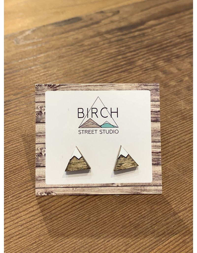 Birch Street Studio Tri Mountain Earrings