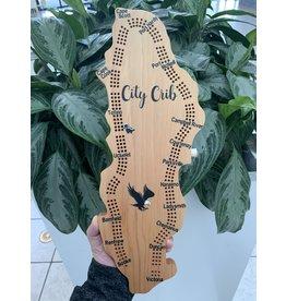 City Crib Vancouver Island Crib Board - Eagle