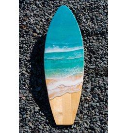West Coast Resin Art Large Surf Board Wall Art