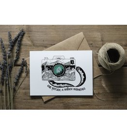 Mountain Mornings Camera Card
