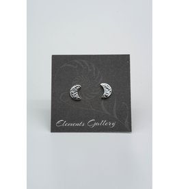 Elements Gallery Moon Studs