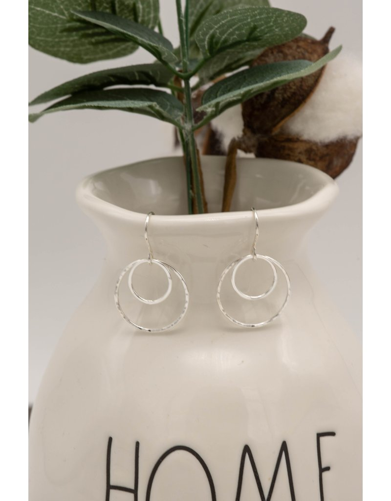 Elements Gallery Nesting Two Circle Medium Earrings