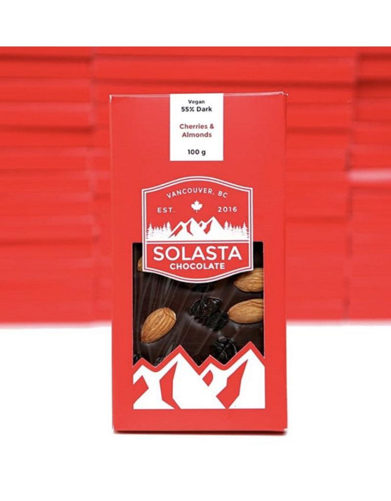 Solasta Cherries & Almonds Vegan 55%