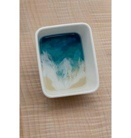 West Coast Resin Art Small Rectangular Trinket Dish #2