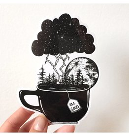 MELI.THELOVER Storm in a Teacup Sticker
