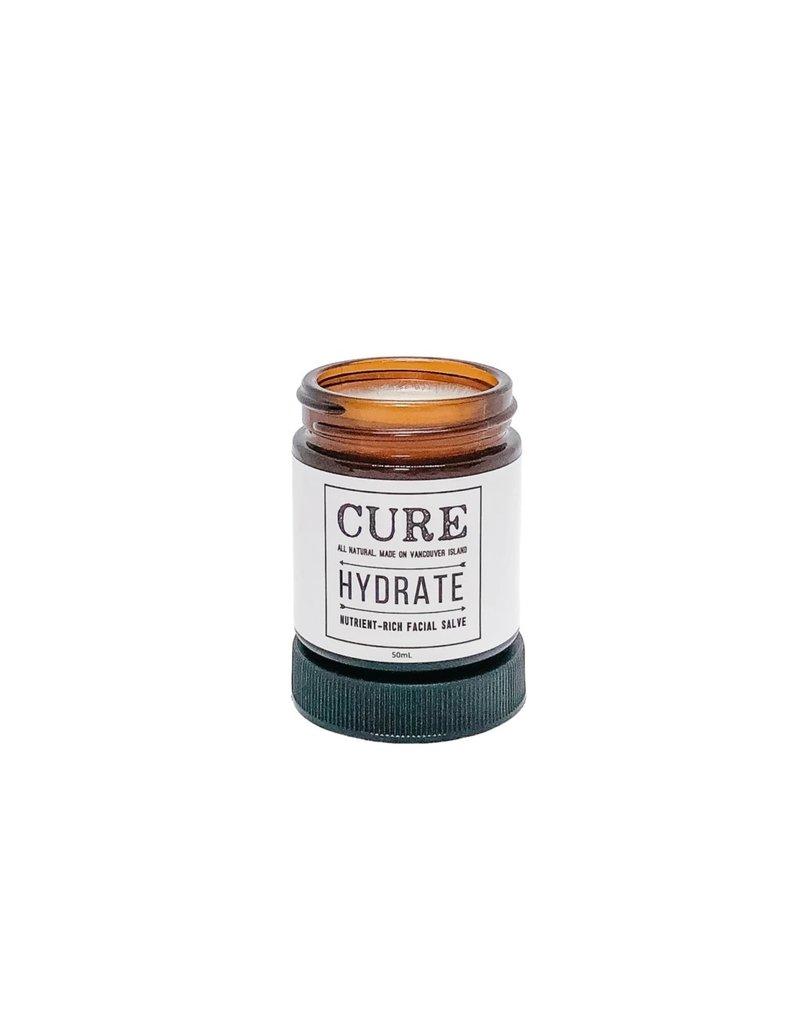CURE Soaps Hydrate Nutrient-Rich Facial Salve (50mL)