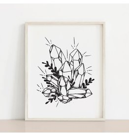 MELI.THELOVER Crystals Cluster Print