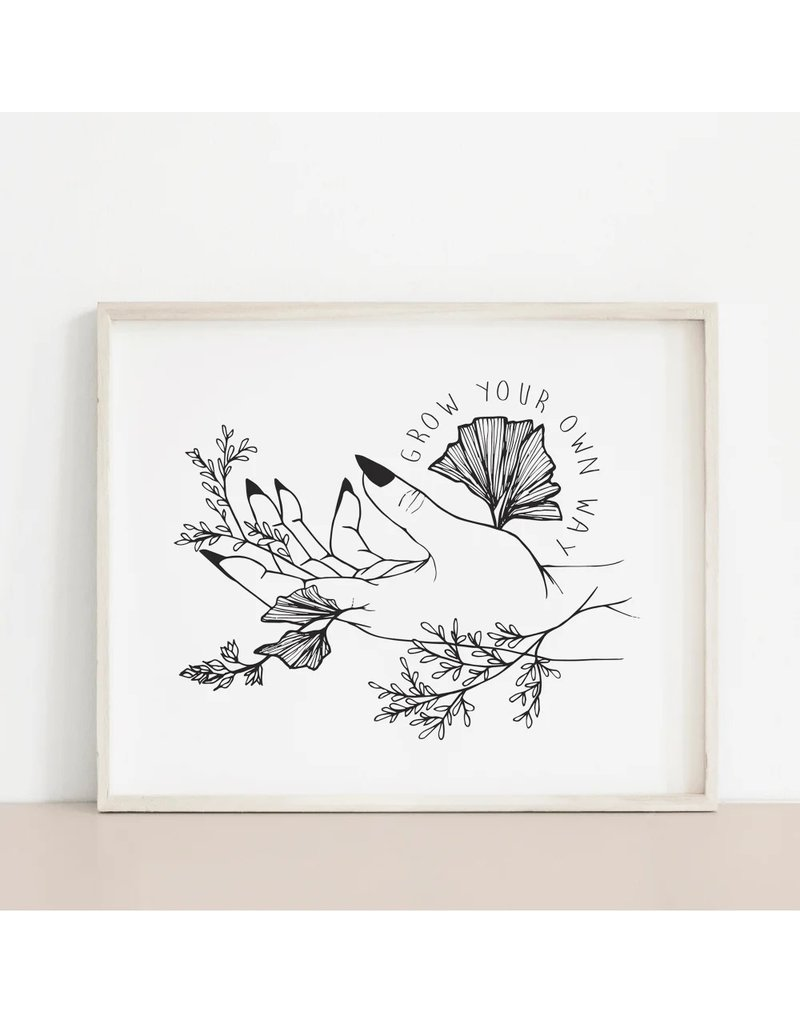 MELI.THELOVER Grow Your Own Way Print