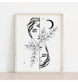 2humans1pooche Dream Floral Print