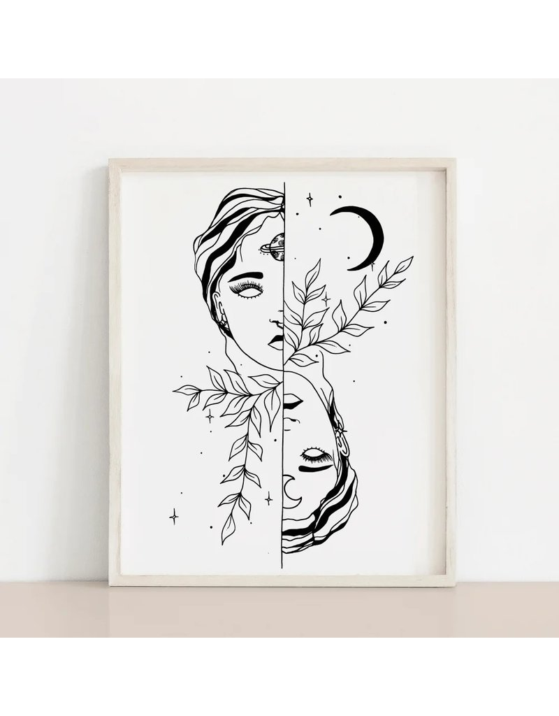 Melina Dream Floral Print