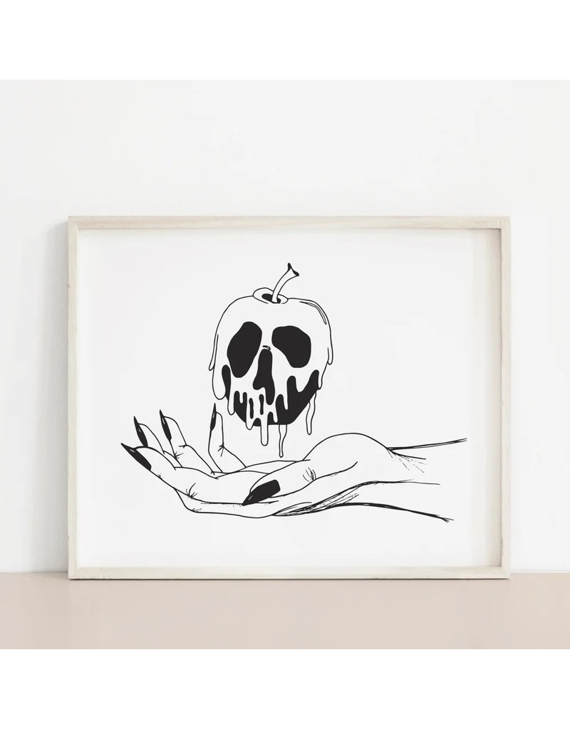 Melina Poisonous Apple Print