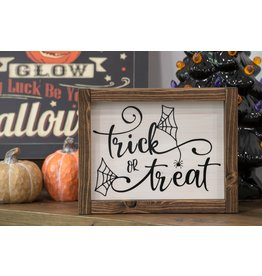 Cultured Coast Trick or Treat Sign