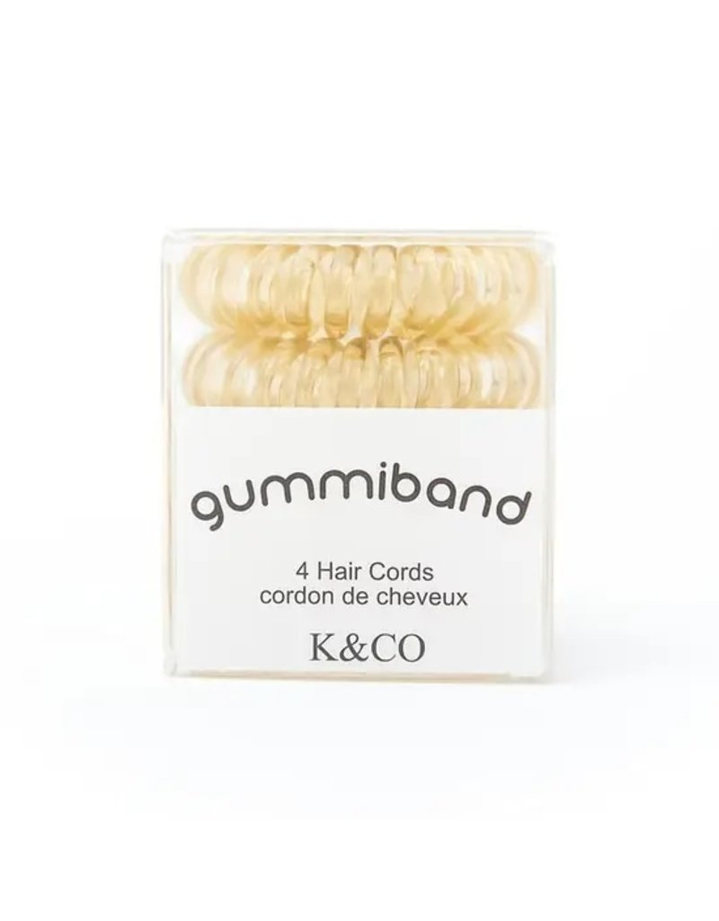 GummiBand Blonde Hair Cords