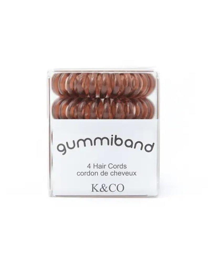 GummiBand Brunette Hair Cords