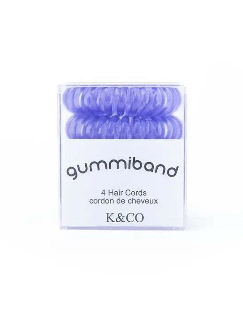 GummiBand Lavender Twist Hair Cords