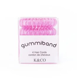 GummiBand Pink I Can Hair Cords