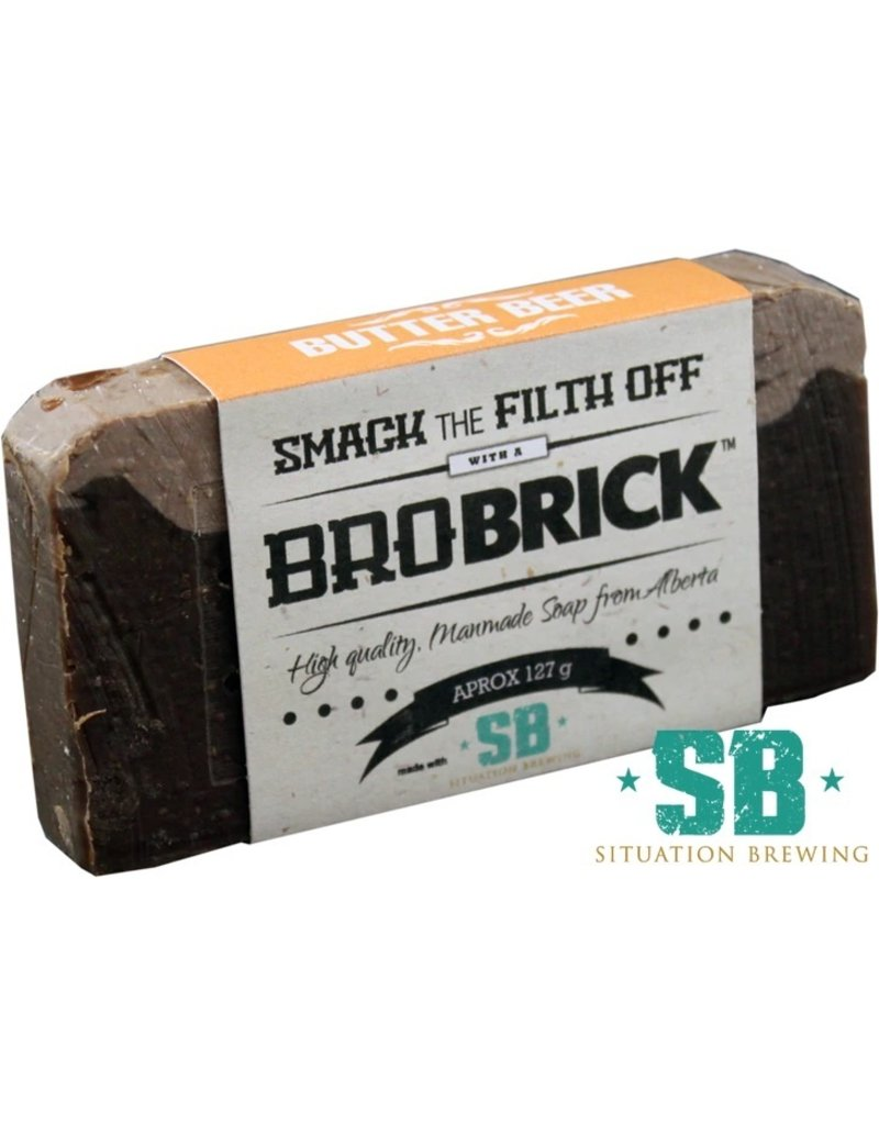Bro Brick Soap Butter Beer Soap