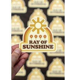 Amanda Weedmark Ray of Sunshine Vinyl Sticker