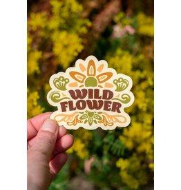 Amanda Weedmark Wild Flower Vinyl Sticker