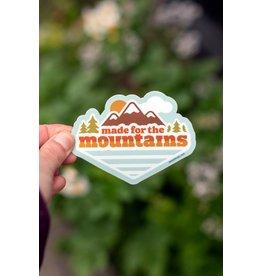 Amanda Weedmark Made for the Mountains Vinyl Sticker