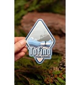 Amanda Weedmark Tofino Travel Vinyl Sticker