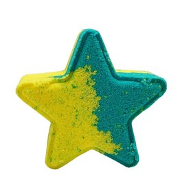 Backwoods Soap & Co Vanilla Mint Star Bathbomb