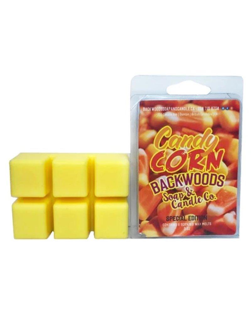 Backwoods Soap & Co Candy Corn Wax Melt