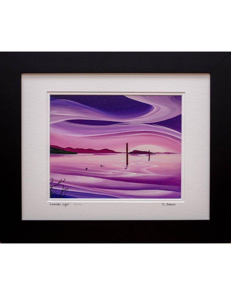 """Yvonne Acheson Art """"Lavender Light"""" Medium Framed"""