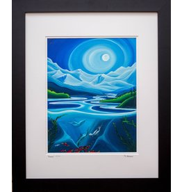 """Yvonne Acheson Art """"Dream"""" Medium Framed"""