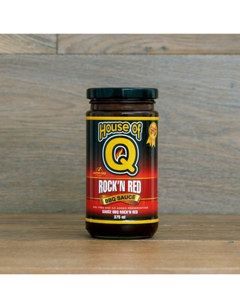 House Of Q Rock' N Red BBQ Sauce