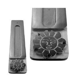 Cultured Coast Sun Black Soapstone Incense Holder