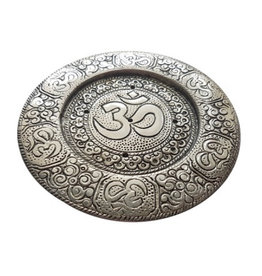 Cultured Coast Om Metal Incense Holder