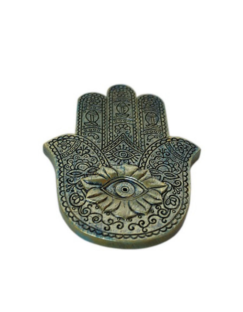 Cultured Coast Hamsa Incense Holder