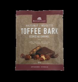 Rock Coast Toffee Bark - Hazelnut 45g
