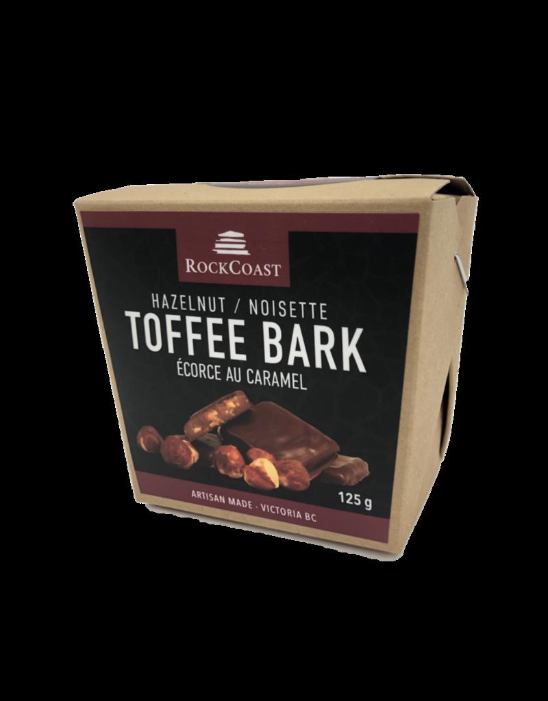 Rock Coast Toffee Bark - Hazelnut 125g