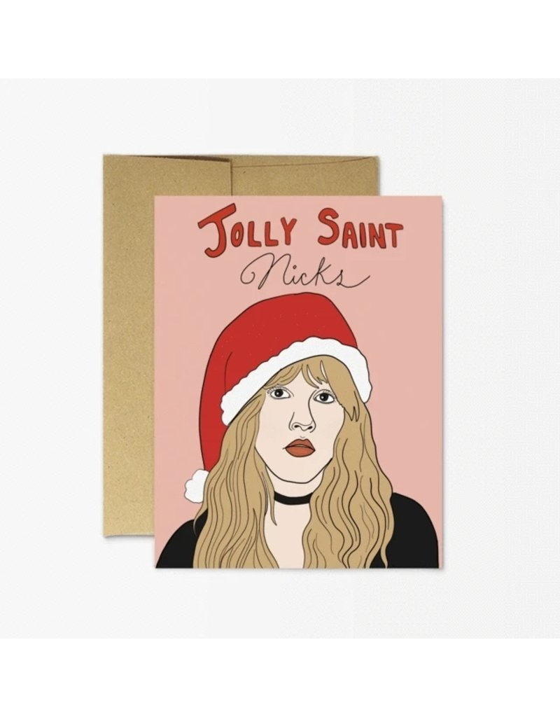 Party Mountain Paper Co Jolly Saint Nicks Card