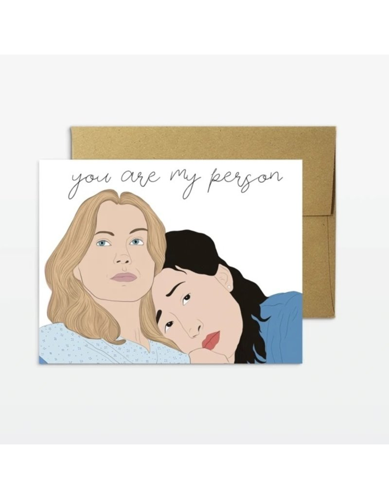 Party Mountain Paper Co You Are  My Person Card