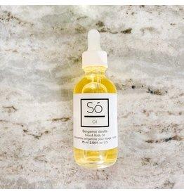 SO Luxury Body Oil - Bergamot Vanilla