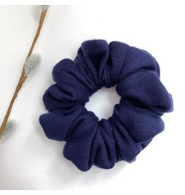 Lanna+Co Navy Scrunchie